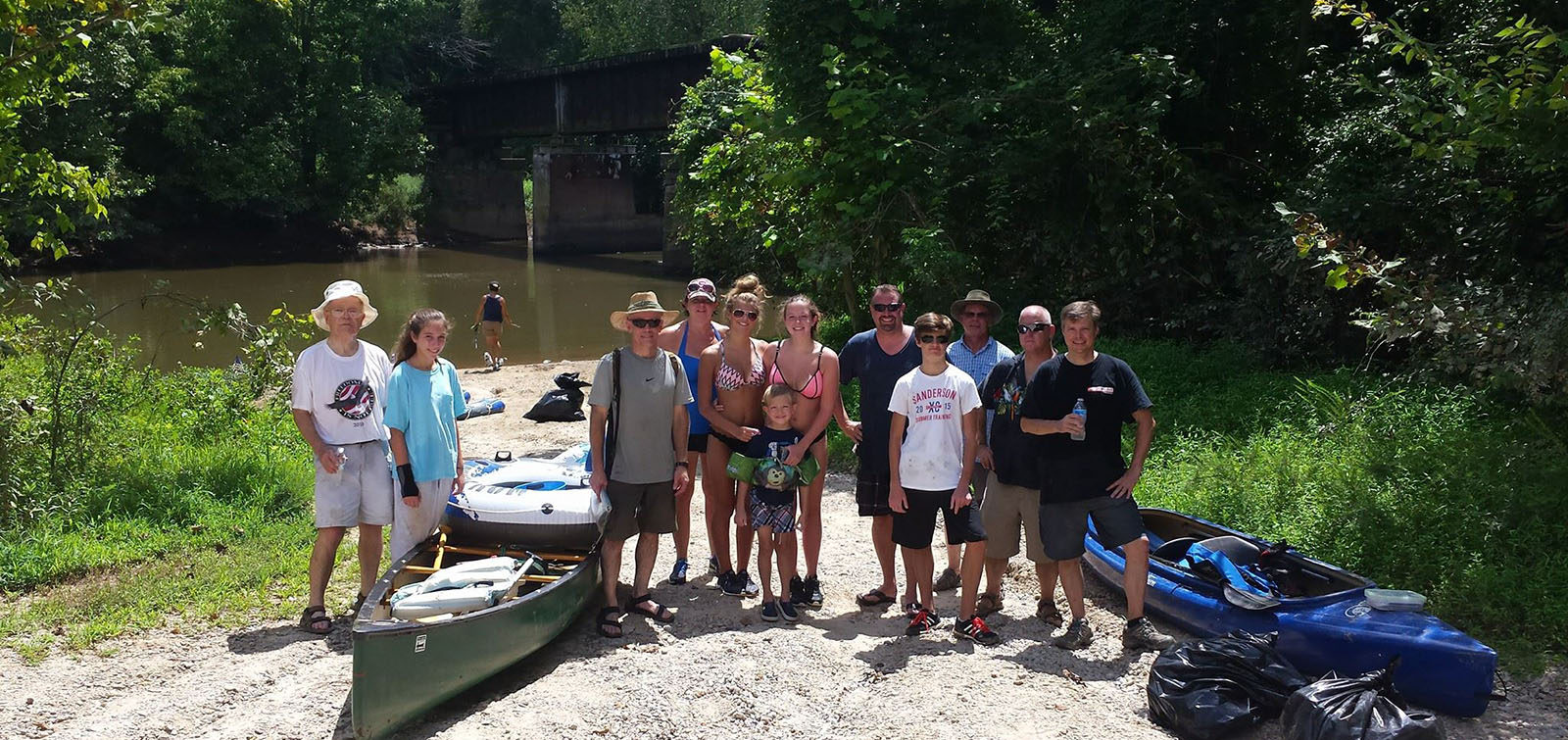 Neuse River Cleanup 2016 - central NC 4x4