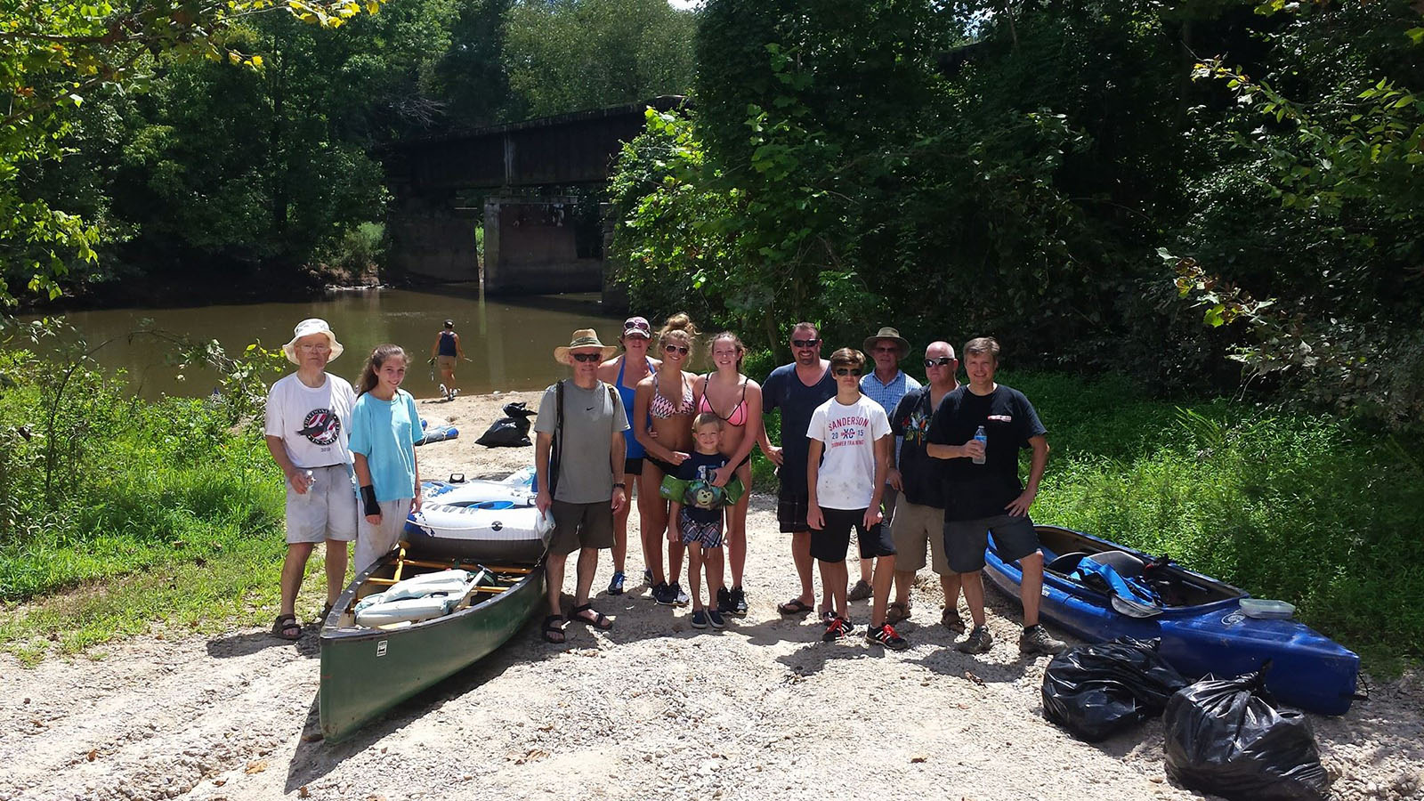 08/16 Neuse River Clean-Up, NC