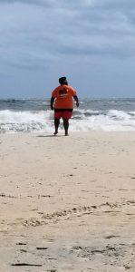 Rod at beach bash