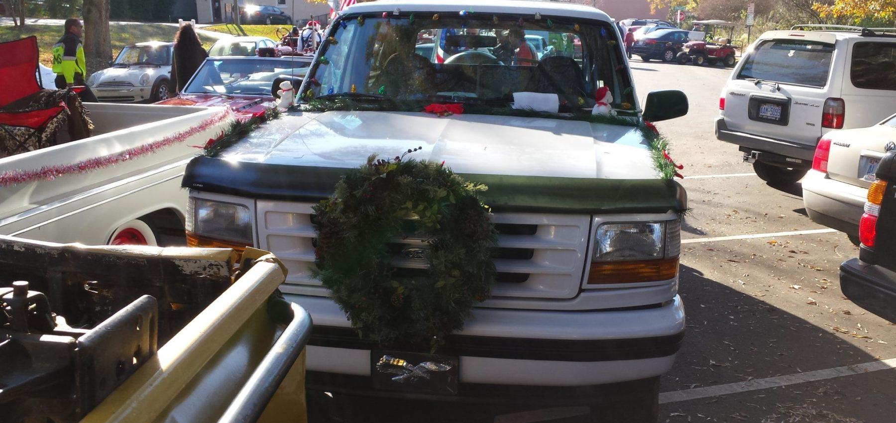central North Carolina 4x4 Christmas parade