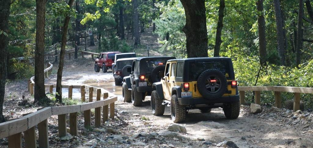 central North Carolina 4x4 trail ride at Uwharrie OHV trails