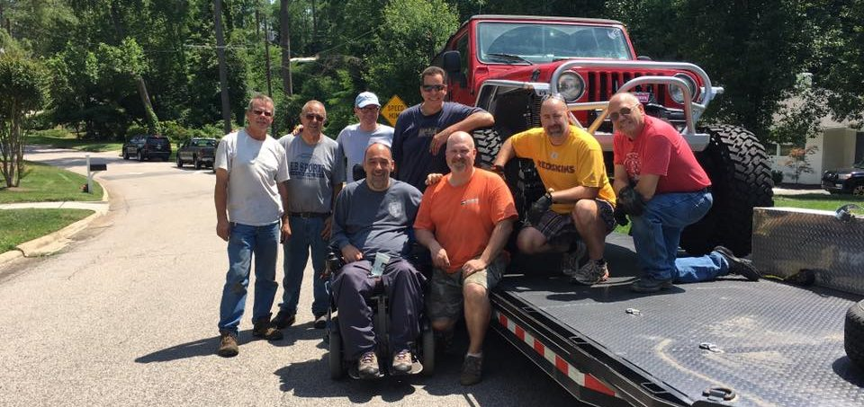Jack's updated Jeep with help from central NC 4x4