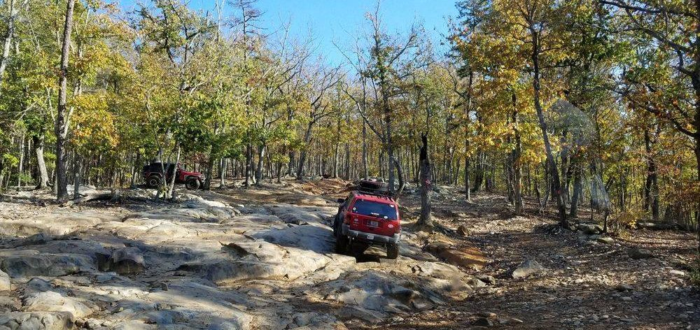 central North Carolina 4x4 offroad trail ride
