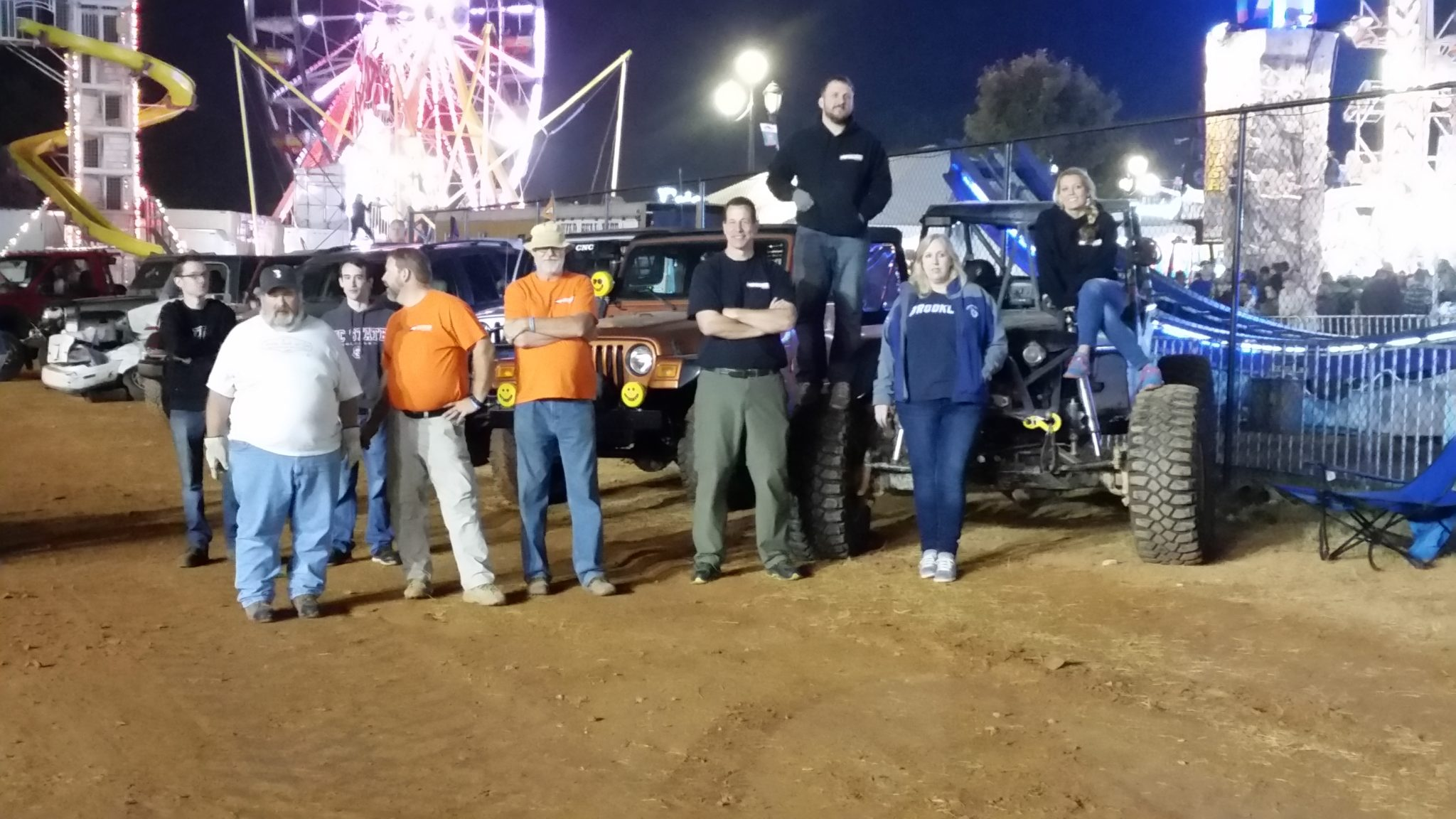 10/15 Demolition Derby- NC State Fair
