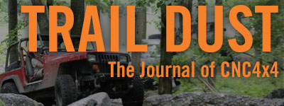 Trail Dust CNC4x4 Journal