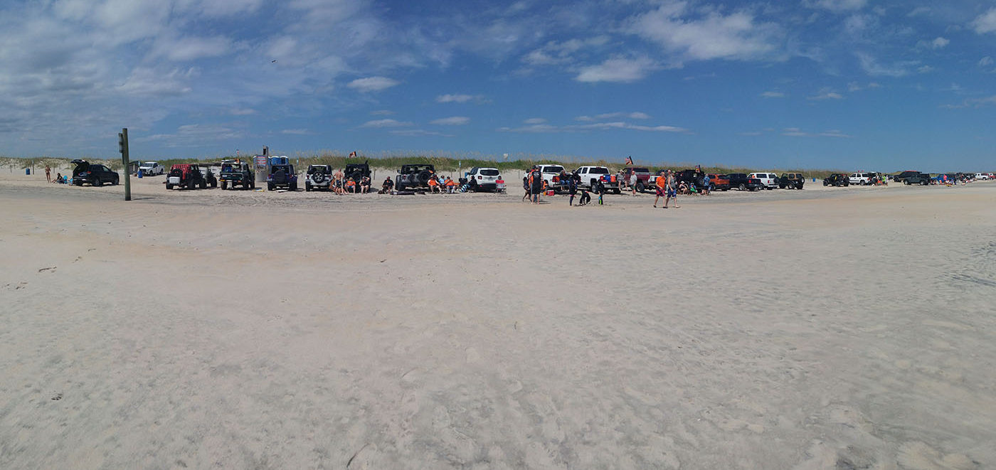 central North Carolina 4x4 beach bash