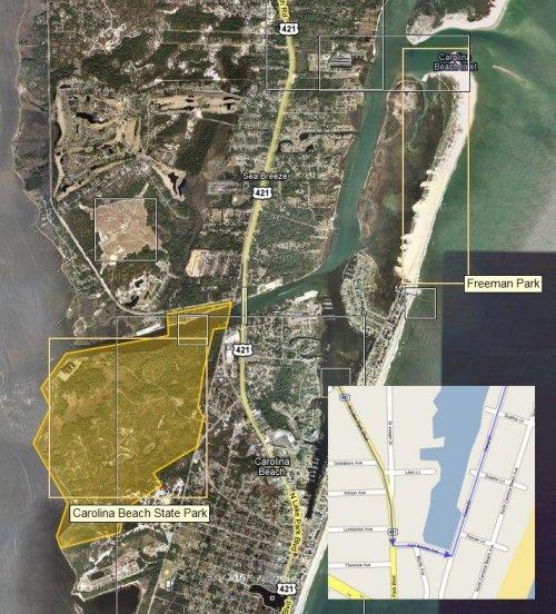 CNC Beach Bash overview map