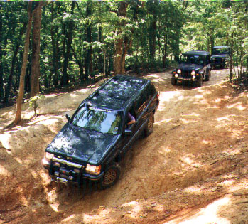07/97 First Documented Trail Ride for CNC4x4 (pics)