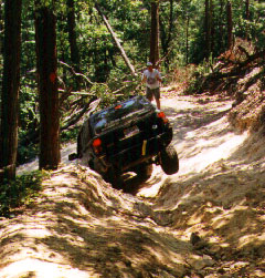 CNC4x4 1st trail ride 1997