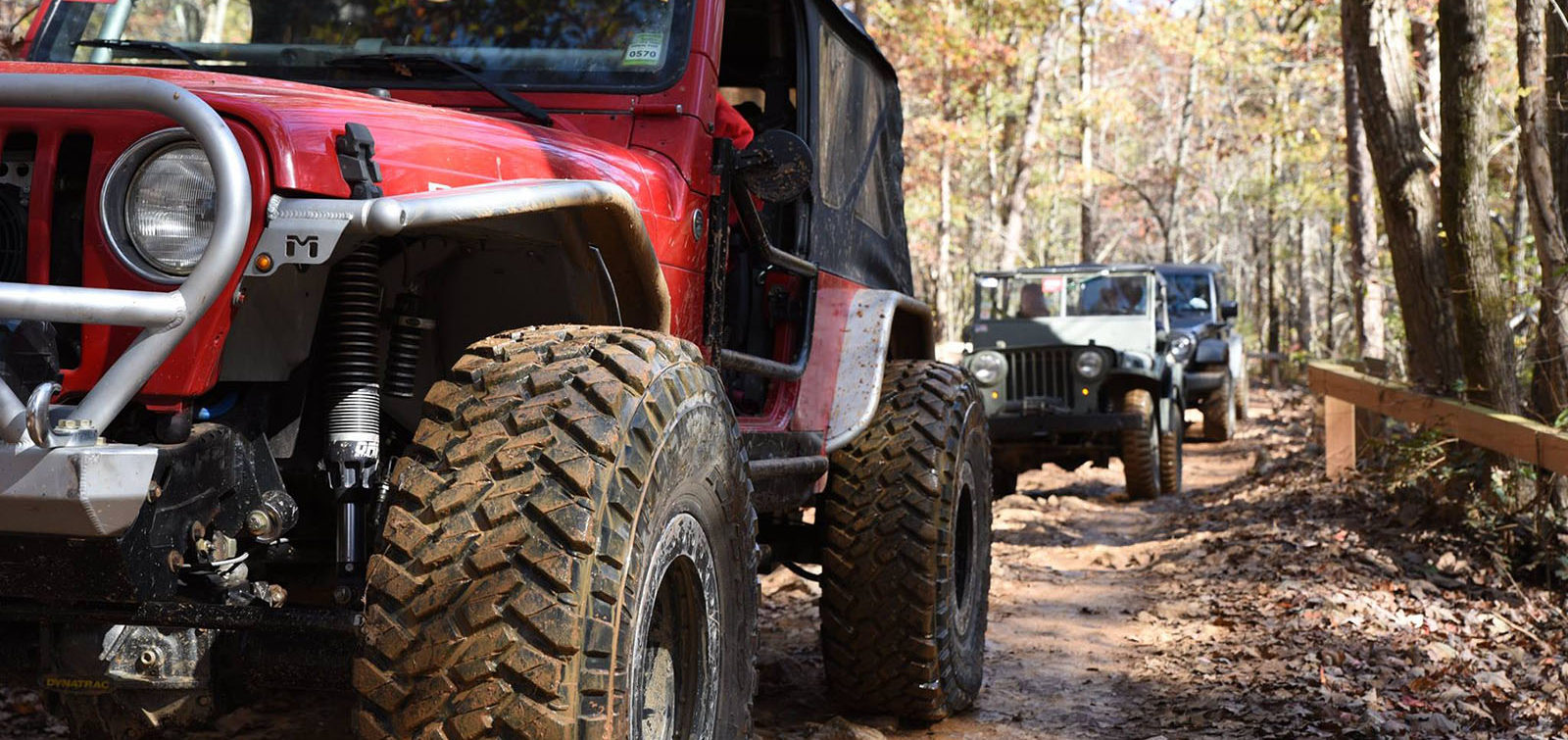 central NC 4x4 - OHV trail ride at Uwharrie National Forest
