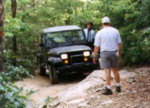 CNC4x4 1st trail ride 1997